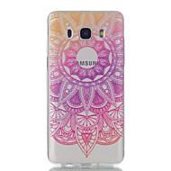 Samsung galaxy j7 j5 pitsi kukkia kuvio korkea läpäisevyys tpu materiaali puhelin tapauksessa