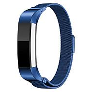 Fitbit Alta Båndmagnetisk Lukning Lås net Bånd Milanesisk Løkke Stil Rustfrit Stål Armbånd Strop Til Fitbit Alta