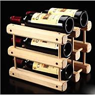 Vinreoler Træ,32.5*26*29CM Vin Tilbehør