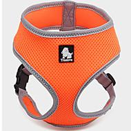 Hunde Geschirre Regolabile/Einziehbar / Weste / Atmungsaktiv Solide Rot / Schwarz / Grün / Blau / Braun / Rosa / Purpur / Orange Gitter