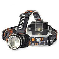 Belysning Pannlampor Strålkastarnas Remmar säkerhetslampor LED 10000 Lumen 1 Läge Cree XM-L T6 18650 Vinklad Ficklampa Superlätt