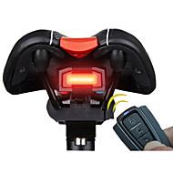 Luce posteriore per bici LED Ciclismo Telecomando / Ultraleggero / allarme / Smart Batteria al litio 100 Lumens Batteria Rosso Ciclismo