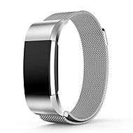 Luxury Milanese Stainless Steel Watch Band Strap For Fitbit Charge 2