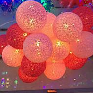 luminile de baterie thailanda lumini cu bile de bumbac serie de culoare cu bile 3.5meters capac de 20 de lampă