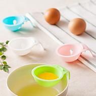 1 db tölcsér For Egg Műanyag Kreatív Konyha Gadget