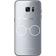 ל אולטרה דק / שקוף / תבנית מגן כיסוי אחורי מגן צבע אחיד רך TPU ל Samsung S7 edge / S7 / S6 edge plus / S6 edge / S6