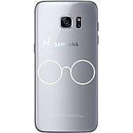 For Ultratyndt / Transparent / Mønster Etui Bagcover Etui Helfarve Blødt TPU for Samsung S7 edge / S7 / S6 edge plus / S6 edge / S6