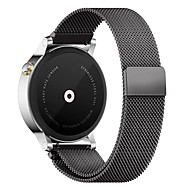 PINHEN 22MM Milanese Loop Magnet Stainless Steel Mesh Replacement Buckle Strap Wrist Band for Samsung Gear S3