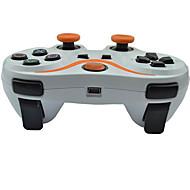 6 ejes controlador Bluetooth inalámbrico y cable de carga para el juego de consola ps3 (colores surtidos)