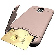 Na Etui na karty / Z podpórką Kılıf Etui na tył Kılıf Jeden kolor Twarde PC na Motorola MOTO G4 / Moto G4 Plus