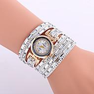 Dames Kinderen Modieus horloge Polshorloge Armbandhorloge Kwarts Kleurrijk Leer BandVintage Glitter Bohémien Bedeltjes Bangle armband