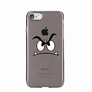 For Transparent Pattern Case Back Cover Case Cartoon Soft TPU for IPhone 7 7Plus iPhone 6s 6 Plus iPhone 6s 6 iPhone 5s 5 5E 5C