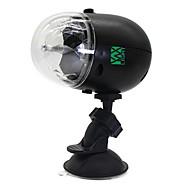 5W Festoen LED-podiumlampen Roteerbaar 1 Krachtige LED 300-400 lm RGB Decoratief / Waterbestendig / Geluidsgeactiveerd / Oplaadbaar V1