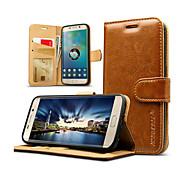 jisoncase luksuzni prave kože Flip kartice novčanik slučaj poklopac za Samsung Galaxy S7 / S7 rubu