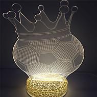 עיצוב מותאם אישית יצירתי באיכות גבוהה אור שולחן הלילה 3D אשליה