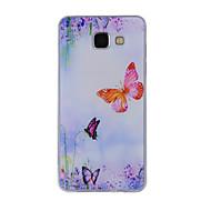 Voor Samsung Galaxy a8 (2016) a8 case cover vlinder geschilderd patroon tpu materiaal telefoon hoesje voor a7 a5 a3 a510 a310