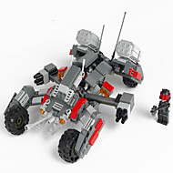 Action Figures & Stuffed Animals / Building Blocks For Gift  Building Blocks Model & Building Toy Tank ABS5 to 7 Years / 8 to 13 Years /