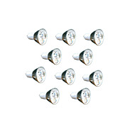 10pcs 3W luz GU5.3 260lm lâmpada LED local (220v)