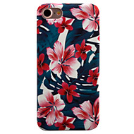 For Mønster Etui Bakdeksel Etui Blomst Hard PC for Apple iPhone 7 Plus / iPhone 7 / iPhone 6s Plus/6 Plus / iPhone 6s/6