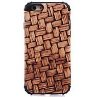 Na Odporne na wstrząsy / Wzór Kılıf Etui na tył Kılıf Tekstura drewna Twarde PC na AppleiPhone 7 Plus / iPhone 7 / iPhone 6s Plus/6 Plus