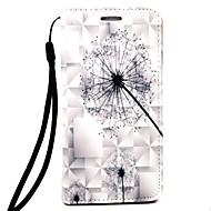 Til Samsung Galaxy Note 4 note 5 case cover mælkebøtte mønster 3d relief pup materiale telefon taske