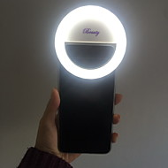 Fill LED Light Rechargable for iPhone and All the Smart Phones (White)