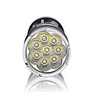 Verlichting LED-Zaklampen LED 3000 Lumens 3 Mode LED 18650 Dimbaar / Waterdicht / Super Light / Hoog vermogenKamperen/wandelen/grotten