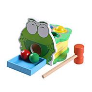 Eğitici Oyuncak Boş Zaman Hobileri Oyuncaklar Yenilikçi Kurbağa Ahşap Gri Erkek Çocuklar İçin / Kız Çocuklar İçin