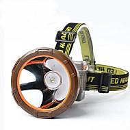Pannlampor / cykel glödljus LED 600-1000 Lumen Läge Cree XM-L T6 18650 Vattentät / SuperlättCamping/Vandring/Grottkrypning /