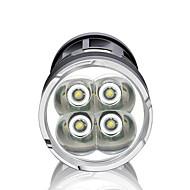 Valaistus LED taskulamput LED 3000 Lumenia 3 Tila LED 18650 Himmennettävä / Vedenkestävä / Erityiskevyet / High Power