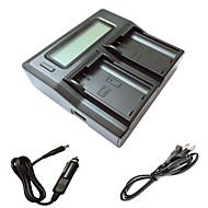 ismartdigi EL15 lcd double chargeur avec câble de charge de voiture pour Nikon D7000 D7100 batterys de caméra d7200 D750 D610 D800 D810