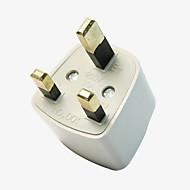 Universal Travel Adapter US AU EU to UK Plug Travel Wall AC Power Adapter
