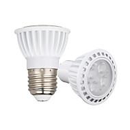 Z®ZDM 1PCS 4W Dimmable  GU10/E27 LED Spotlight 4 SMD 3030 450-550 lm Warm White /Cool White AC110/AC22/AC85-265V