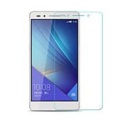 beittal® 0.26mm afgeronde rand transparant 9h gehard glas membraan screen protector voor Huawei Huawei eer 7