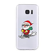Για Διαφανής / Με σχέδια tok Πίσω Κάλυμμα tok Χριστούγεννα Μαλακή TPU για SamsungS7 edge / S7 / S6 edge plus / S6 edge / S6 / S6 Active /