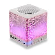 רמקולים Bluetooth אלחוטית 2.0 CHנייד / חוץ / עמיד במים / Bult-מיקרופון / תומך בכרטיס זיכרון / התמיכה FM / דיסק USB תמיכה / סטריאו / קול