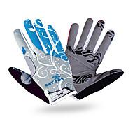 Sports Gloves Unisex Cycling Gloves Spring Autumn/Fall Winter Bike Gloves Breathable Shockproof Wearproof Full-finger Gloves Lycra