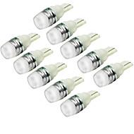 T10 Araba Kamyonlar ve Römorklar Motorsiklet Soğuk Beyaz 1.5W COB 6000-6500Sis Farı Gündüz Farı Şerit Lamba Yan Lambalar LED Melek