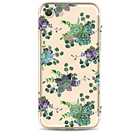 For Apple iPhone  7 7Plus 6S 6Plus Case Cover Flower Pattern HD TPU Phone Shell Material Phone Case