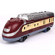 Track Rail Car Chic & Modern Novelty Toy Train Novelty Dark Red Plastic Children's Day