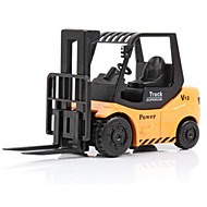 Educational Toy Forklift Metal Yellow For Boys