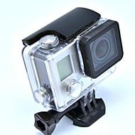 Accessoires für GoPro,Smooth Frame Schutzhülle Wasserfestes Gehäuse Halterung Wasserdicht, Für-Action Kamera,Gopro Hero 3+ Gopro Hero 4