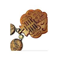 Κολιέ Κρεμαστά Κολιέ Κοσμήματα Πάρτι Καθημερινά Causal Toy Shape Μοντέρνα Euramerican Μαργαριτάρι Πετράδι Γυναικεία 1pc Δώρο Καφέ
