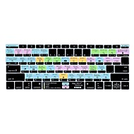 2016用xskn OS Xショートカットシリコーンキーボードの皮は、非タッチバーバージョン新しいMacBook Proの13.3私たちのレイアウトをリリース