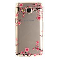 Για IMD Διαφανής Με σχέδια tok Πίσω Κάλυμμα tok Λουλούδι Μαλακή TPU για Samsung J5 (2016) J5 J3 J3 (2016) Grand Prime