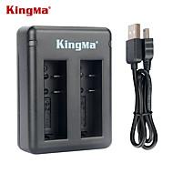 Kingma bm037 dual-slot chargeur de batterie pour xiaomi xiaoyi et la batterie az16-1 --black