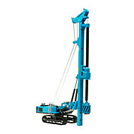 Constructievoertuig Speeltjes Car Toys 1:60 Metaal ABS Kunststof Bruin Modelbouw & constructiespeelgoed