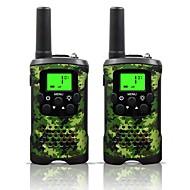 legergroen en camo voor kinderen walkie talkies 22 kanalen en (tot 10 km in open gebieden) legergroen en camo walkie talkies voor kinderen