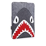 For MacBook Air Pro 11.3 12 13.3 15.4 Sleeves Case Cover Cartoon Animals Felt Lovely Laptop Bag Shark Beast