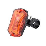 Luci bici LED - Ciclismo Dimmerabile Compatta Gancio Taglia piccola AAA 50 Lumens Batteria RossoCampeggio/Escursionismo/Speleologia